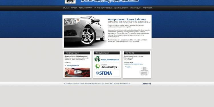 Autopurkaamo Jorma Lahtinen Tmi
